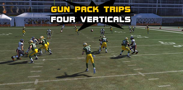 Madden Tips: Gun Pack Trips - Four Verticals