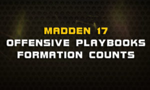 madden 17 offensive playbooks formation counts 300x180 Madden Tips | Madden | Football Plays | Football Strategies