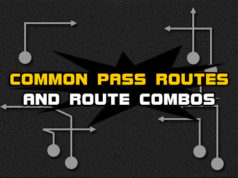 football common pass routes route combos 238x178 Madden Tips | Madden | Football Plays | Football Strategies
